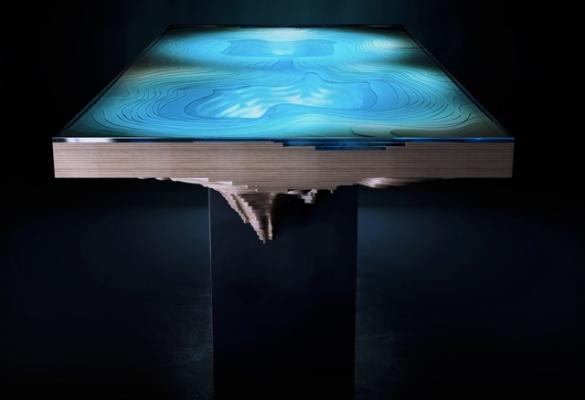 mélység asztala