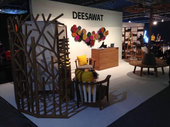 DEESAWAT - kültéri bútorokra specializálódott Thaiföldi cég. Kreativitásban és minőségben sincs hiány.