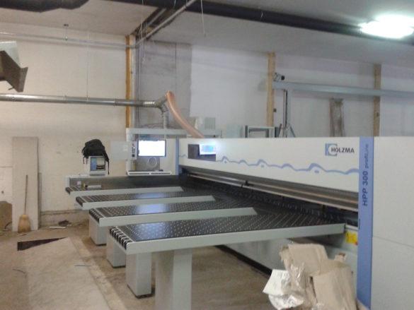 Automata adagolású táblafelosztó gép telepítése