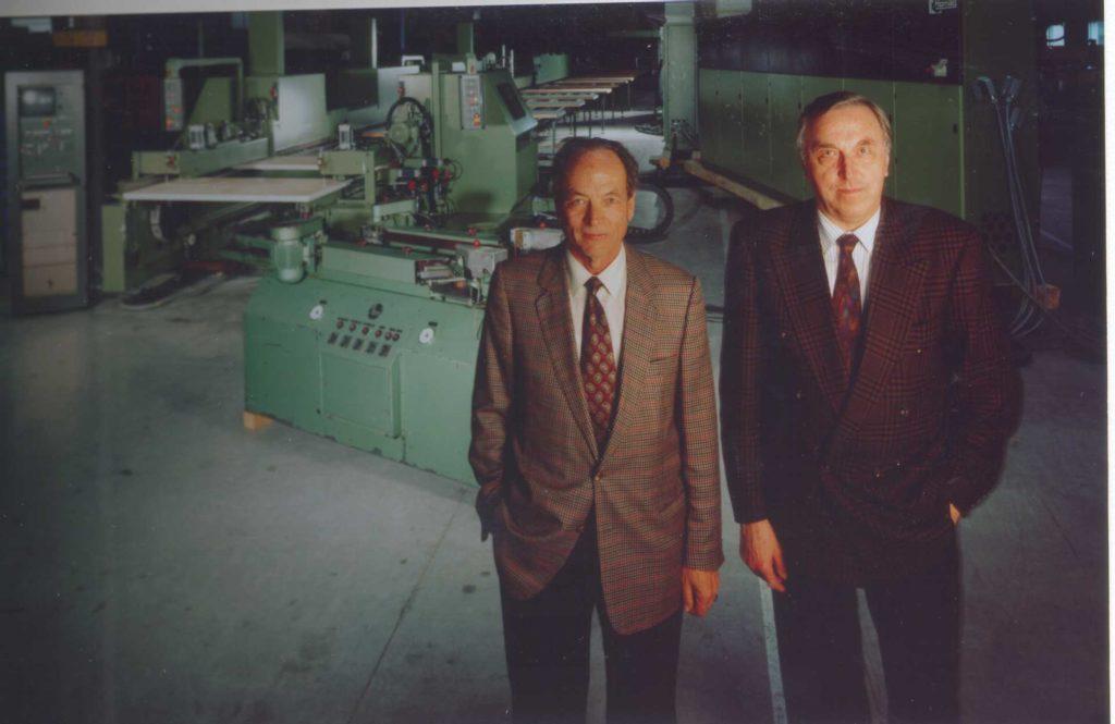 Gerhard Schuler és Eugen Hornberger