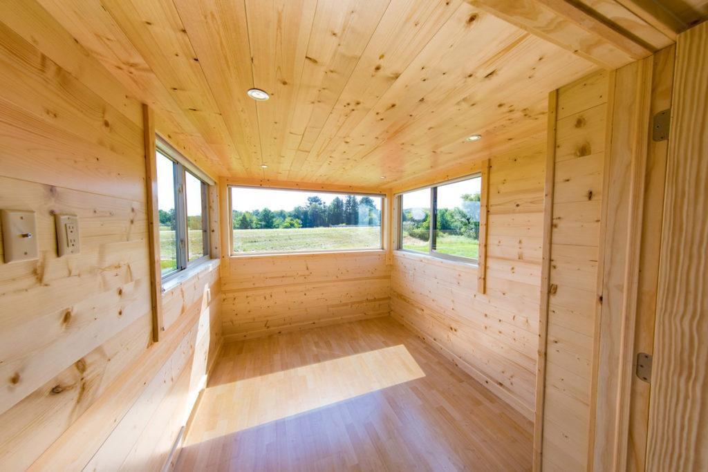Guruló ház Shou sugi ban wood