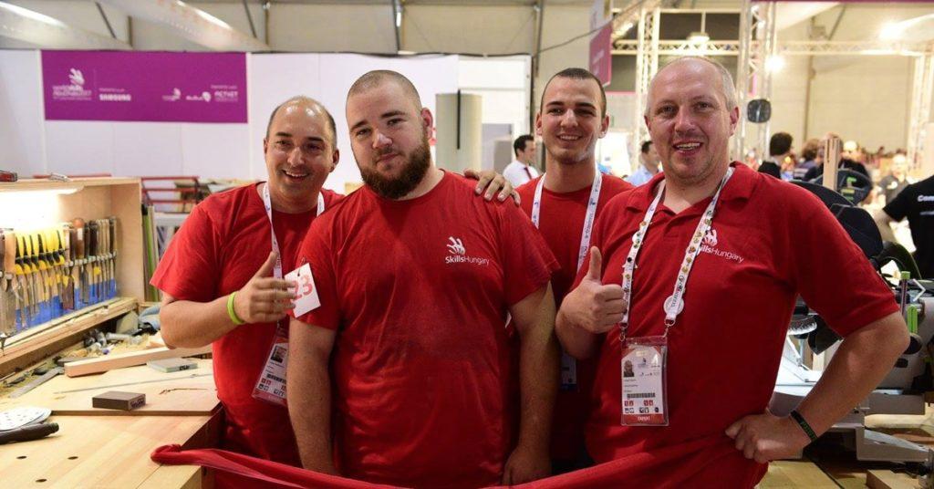 Worldskills 2017 - magyar csapat