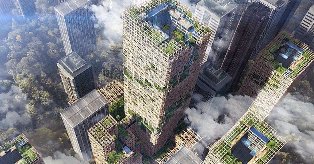 Fából felhőkarcoló