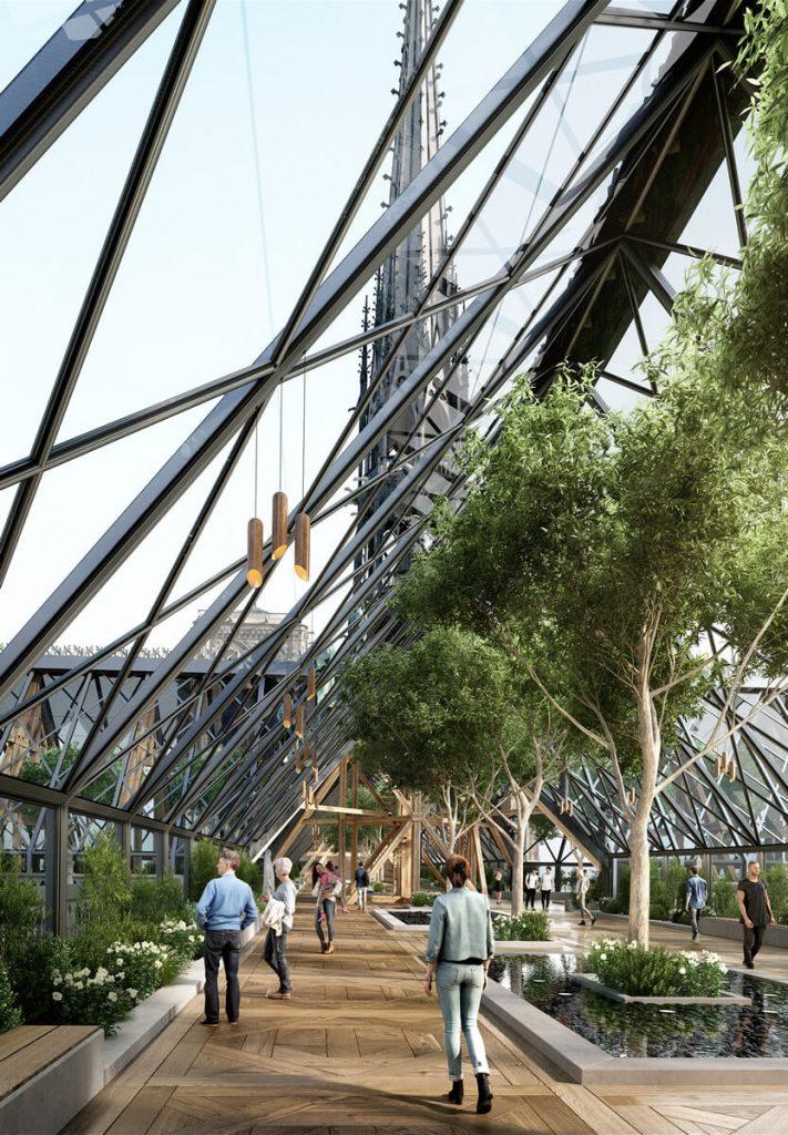 Notre Dame rekonstrukció