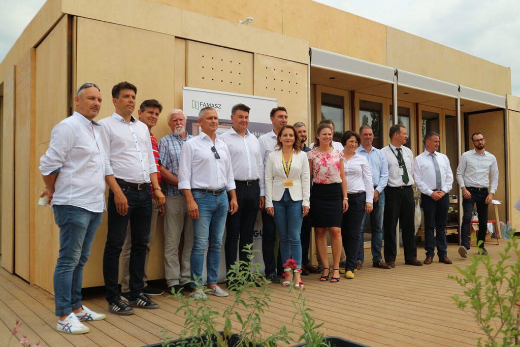 Solar Decathlon sajtótájékoztató