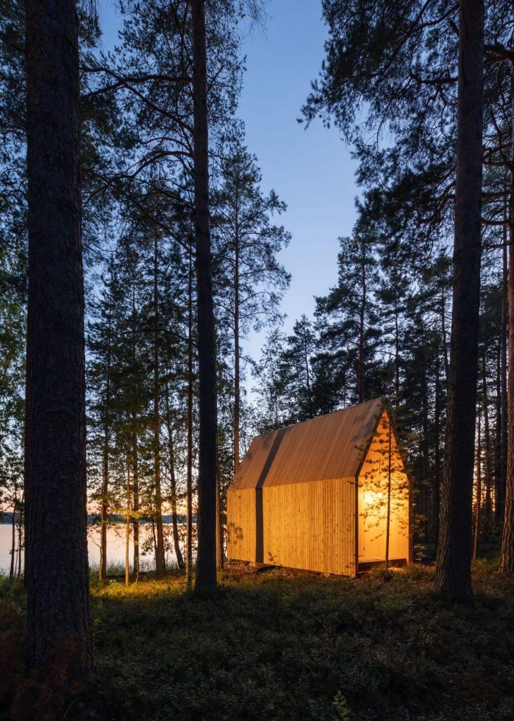 CLT ház Finnorrszágban